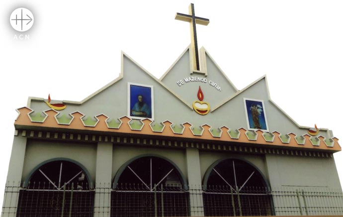 a church and community centre for the parish of Nayanagar in Bangladesh