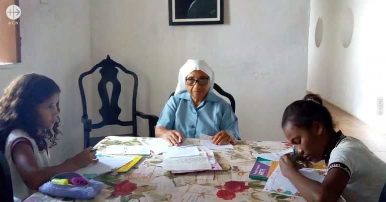 Brazil. Support for 12 elderly and infirm religious sisters