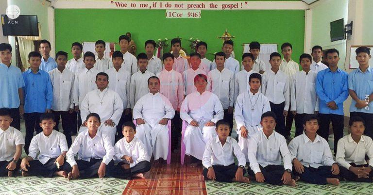 Burma. Saint Paul – their pattern for today