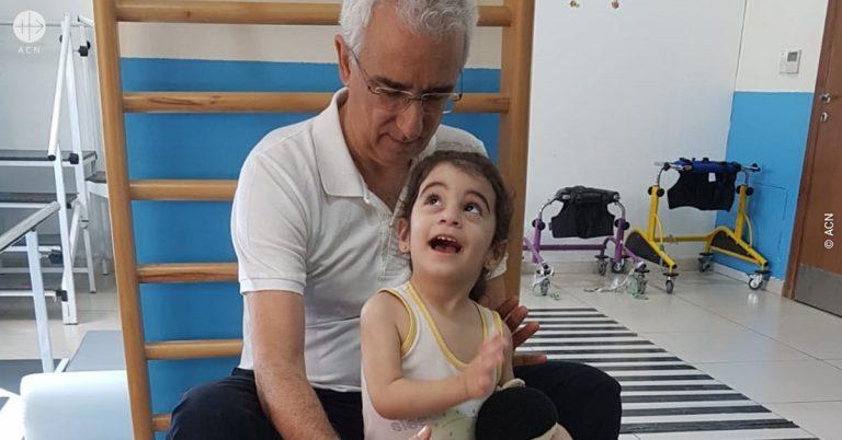 Jordan. Medical care for Syrian refugees
