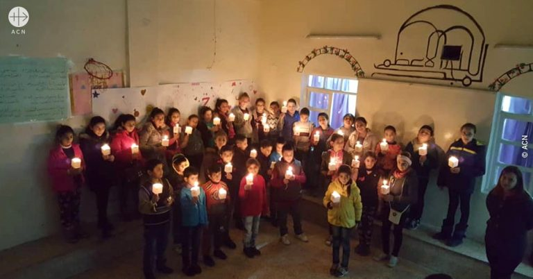 La Navidad regresa a las casas y las iglesias de Siria