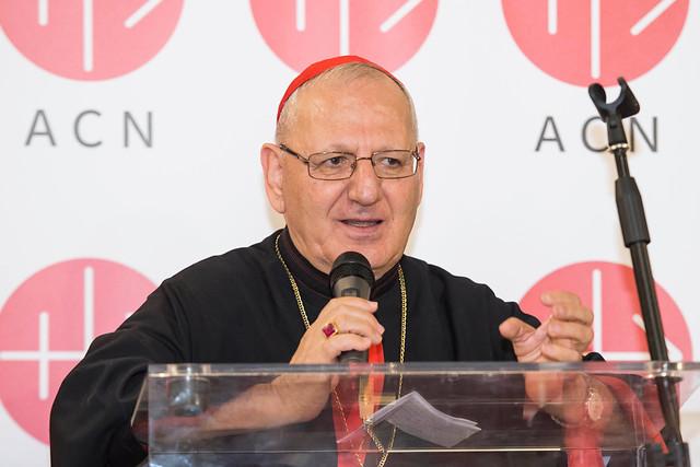 Chaldean Catholic Patriarch Louis Raphael I Sako.