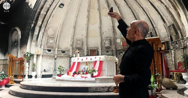 Mensaje de agradecimiento del Padre Georges Jahola