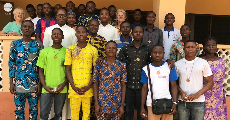 One year formation course for young people in Cotonou, Benin