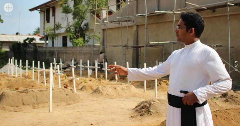 Sri Lanka: Psychological and pastoral aid for victims of the attacks