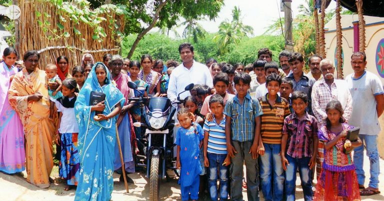 Success Story: A moped for a priest in a rural parish in India