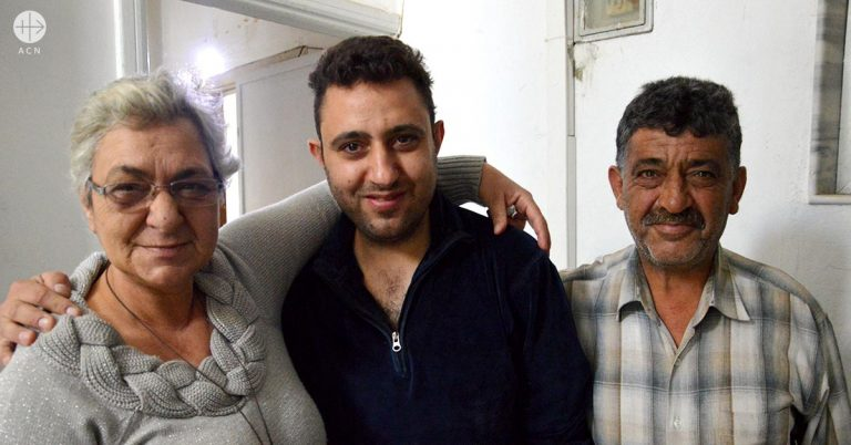 Syrian refugees – The Abboud family are determined to return to their former home in Homs