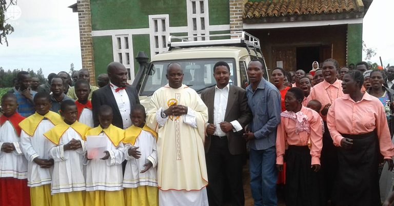 Tanzania: A car for the parish of Mlevela