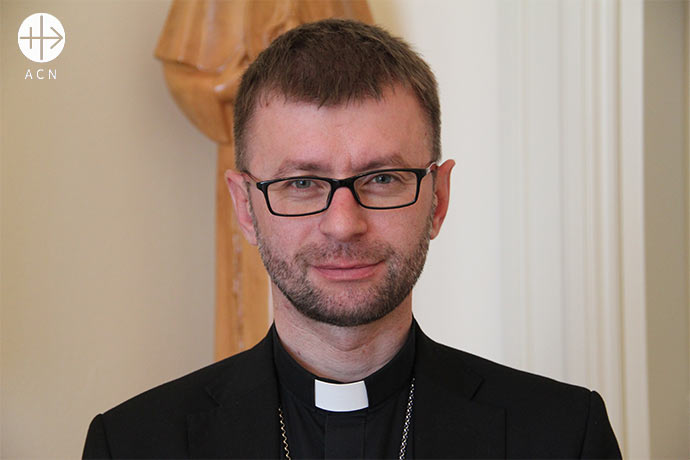 Edward Kawa, Auxiliary Bishop of archdiocese of Lviv (Ukraine)