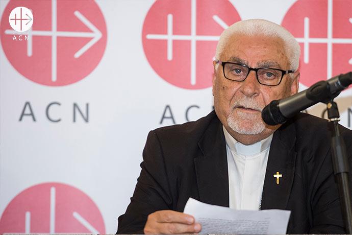Mons. Petros Mouche es el Arzobispo siro-católico de Mosul (Irak).