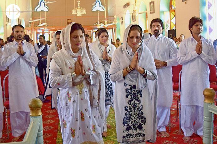 """El pueblo de Khushpur, insignificativo visto desde fuera, es considerado el """"Vaticano de Pakistán""""."""