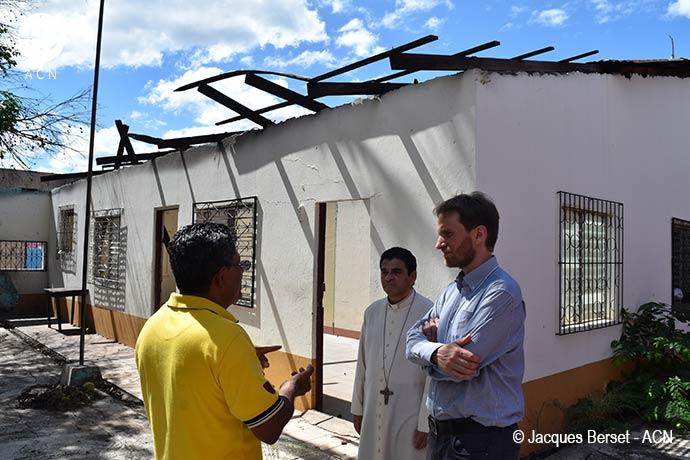 En el mes de noviembre, Marco Mencaglia, responsable de proyectos de Ayuda a la Iglesia Necesitada para América Latina, visitó Nicaragua.