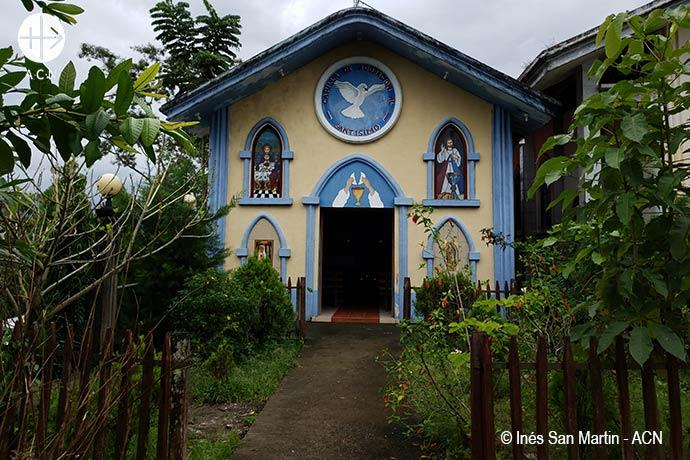 Chapel in Nicaragua.