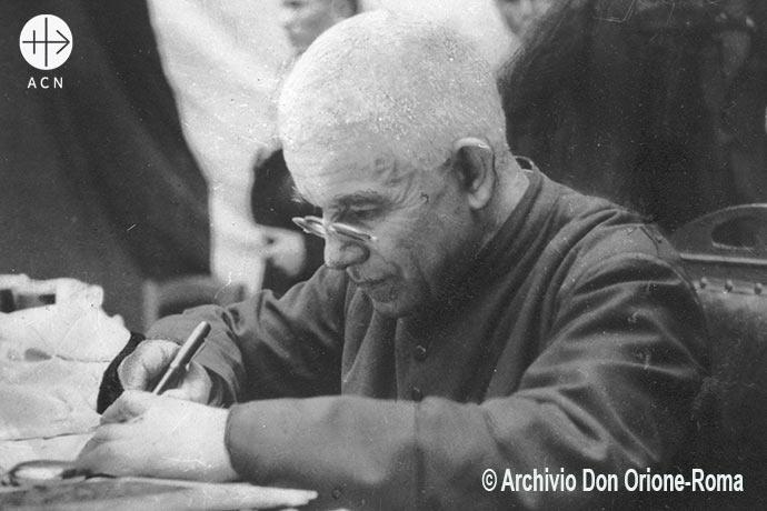 Canonizado hace quince años: San Luis Orione, fundador de la Pequeña Obra de la Divina Providencia.