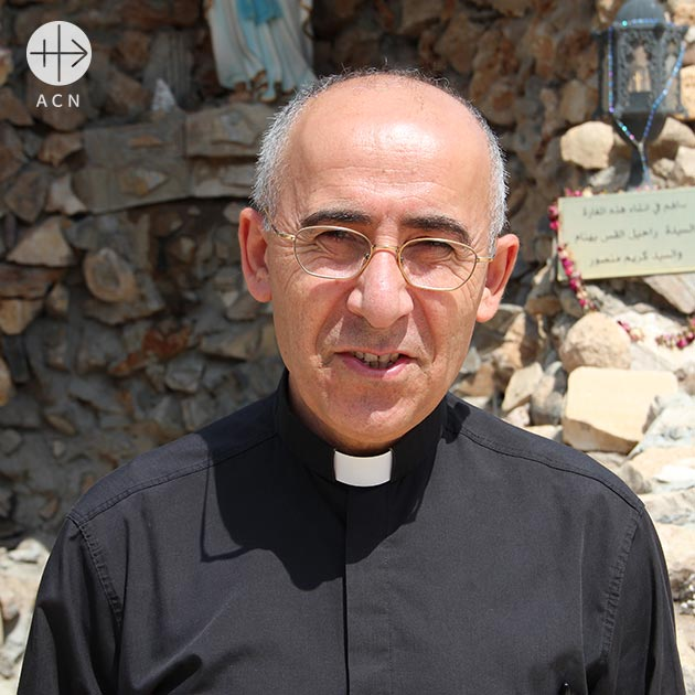 Thanks message by Fr. Georges Jahola