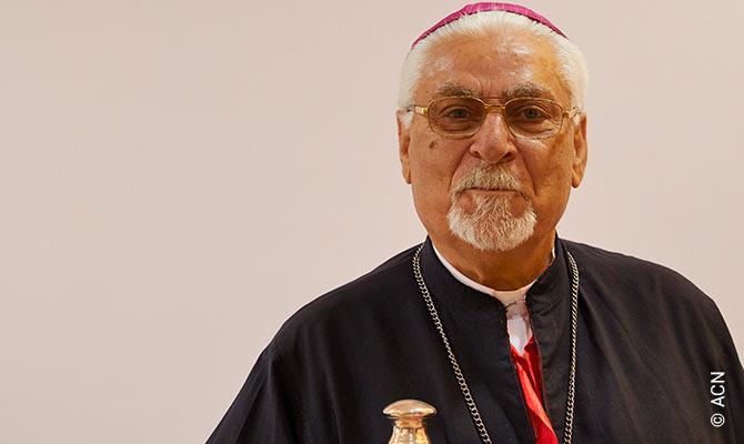 The Syriac Catholic Archbishop of Mosul, Yohanna Petros Mouche.