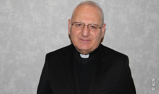The Chaldean Catholic Patriarch of Baghdad, Raphael Sako.