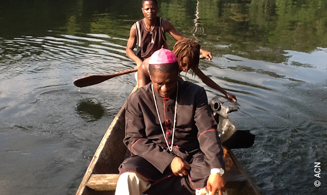 Bishop Andrew Nkea condemns the abductions of priests in his diocese