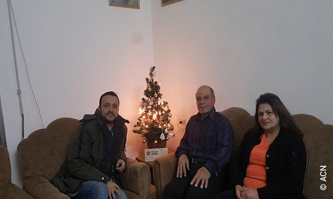 Primera Navidad en casa de los Ghattas.
