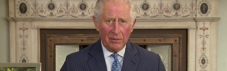 Un mensaje de SAR el Príncipe de Gales grabado en el Palacio de St James