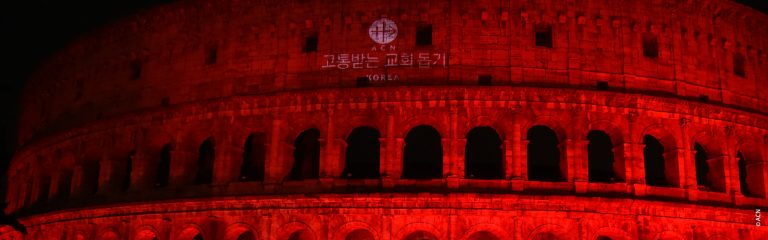 Aid to the Church in Need: Thousands of churches, monuments and buildings will be lit in red to call for religious freedom around the world