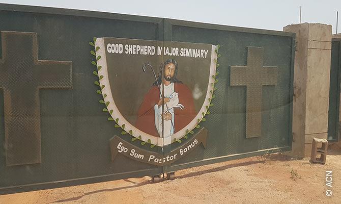 El seminario mayor del Buen Pastor en la ciudad de Kaduna, en el norte de Nigeria.