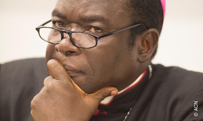 Bishop Matthew Kukah of Sokoto, Nigeria.