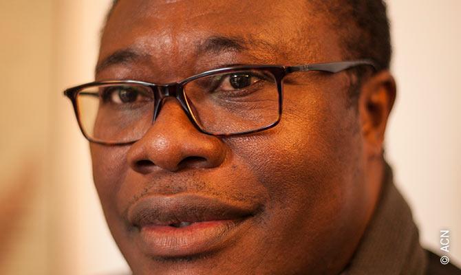 Bishop Bruno Ateba of the diocese of Maroua-Mokolo in northern Cameroon.