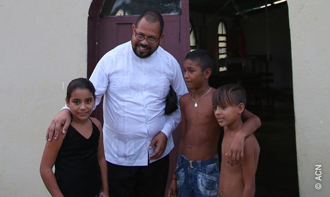 Father Angel Orellana.