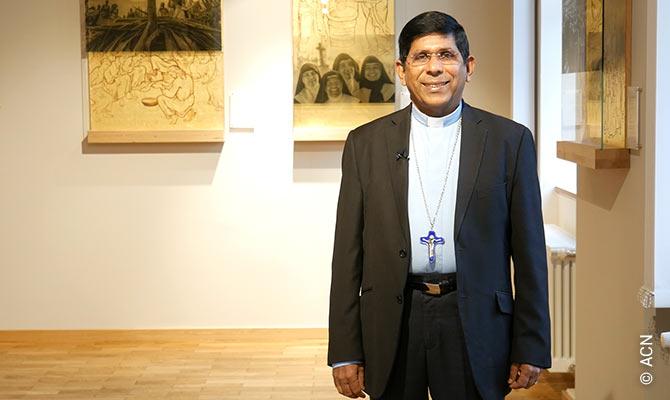 Mons. Georges Varkey Puthiyakulangara es el Obispo de Port-Bergé, en el norte de Madagascar.