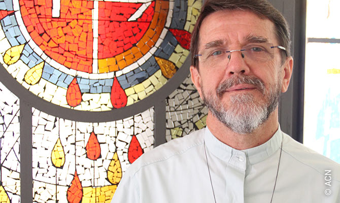 Mons. Luiz Fernando Lisboa, al frente de la diócesis de Pemba situada en Cabo Delgado.