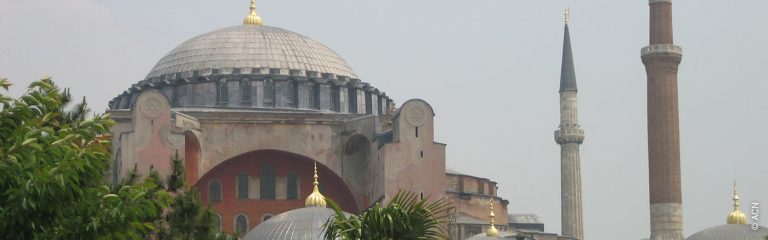 Statement by the Catholic charity ACN International on the Turkish government's decision to allow Hagia Sophia to be reconverted into a mosque