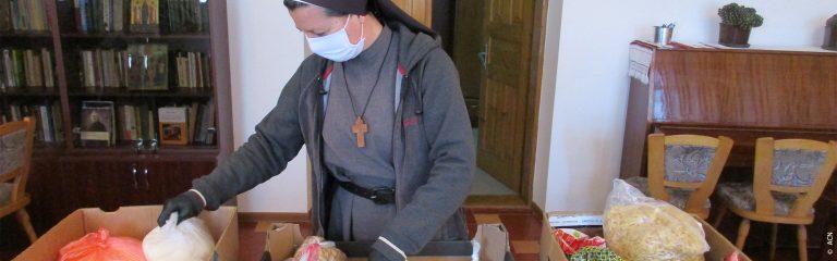 Ucrania: Religiosas En Primera Línea En La Lucha Contra La Covid-19