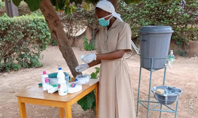 Burkina Faso: ACN covid-19 response programme.