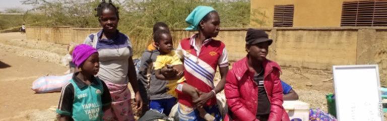 Burkina Faso: ACN apoya a las víctimas que huyen del terrorismo