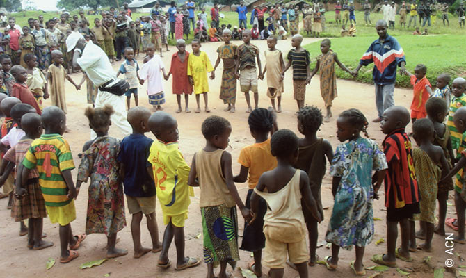 Central African Republic: ACN response program to the COVID-19.
