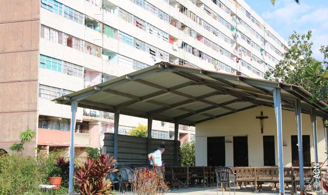 Cuba: The church in Havana, dedicated to Saint John Paul II, is now in its final phase.