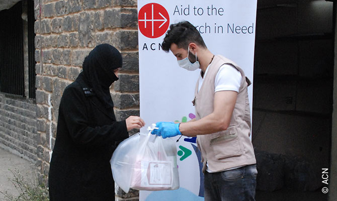 ACN International sets up new emergency aid plan for Syrian Christians.