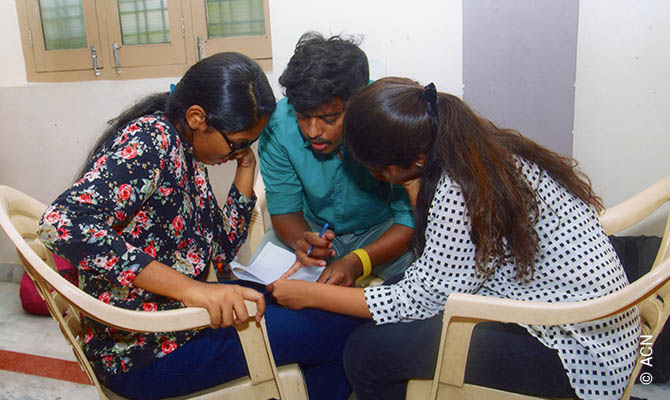 Faith Formation for Youth in the Archdiocese of Hyderabad, India.