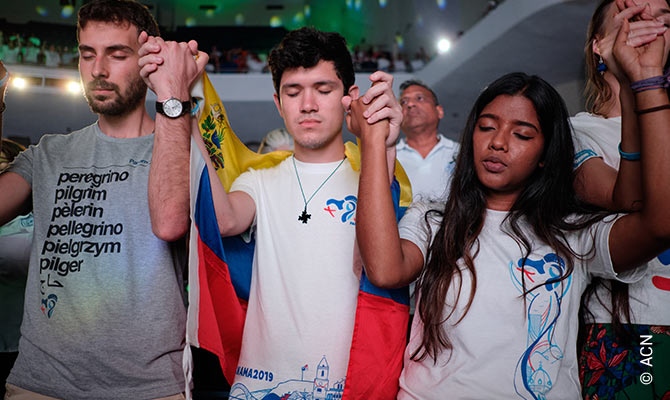 The World Youth Day in Panama City in January 2019.
