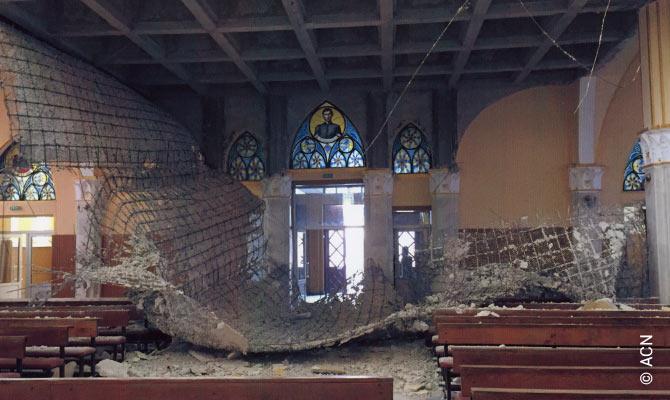 """Renovation of the """"Coborârea Sfântului Duh"""" church in Adjudeni."""