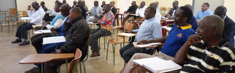 Burundi, Formation for the 46 priests of UCI (Union Clergé Incardiné Bubanza) about healing of painful memories