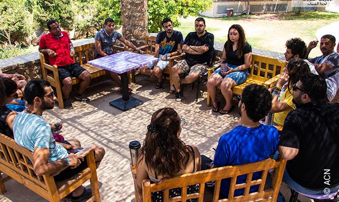 Egipto, Actividades pastorales de verano para niños y jóvenes de Alejandría.