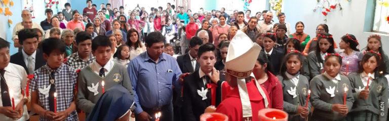 Perú: Formación de catequistas de la Prelatura de Chuquibambilla en los Andes