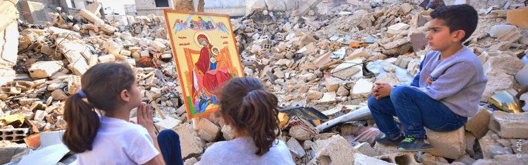10 ans de guerre : bilan de l'aide de l'AED en Syrie pendant le conflit