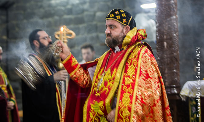Il metropolita siro-ortodosso di Homs, mons. Selwanos Boutros Alnemeh.