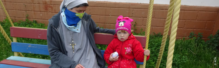 Existence aid for 150 sisters of Kamyanets-Podiilskyi, in Ukraine