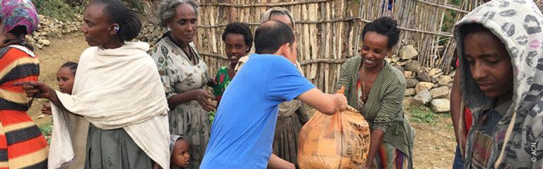 Etiopía: Ayuda a la pastoral juvenil y familiar de los Salesianos en la parroquia de Adwa