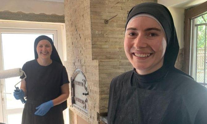 ACN también ofrece ayuda para el sustento de las monjas contemplativas de Burshtyn, Ucrania.