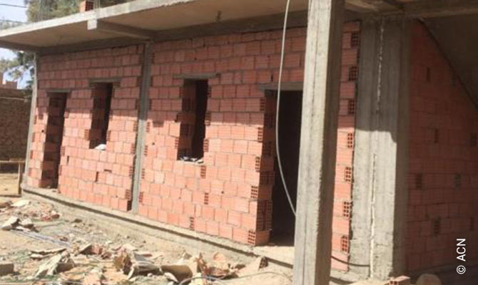 Construcción de 4 estudios y una sala comunitaria para las Hermanitas del Sagrado Corazón - de Carlos de Foucauld en Tamanrasset (cofinanciación).